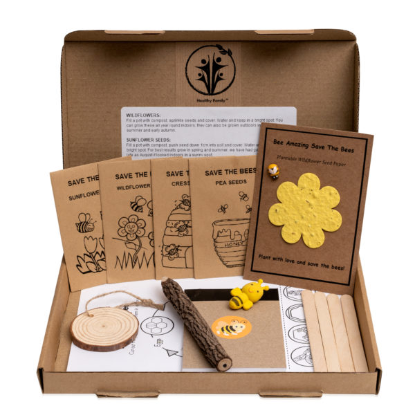 Save The Bees Activity Pack For Kids