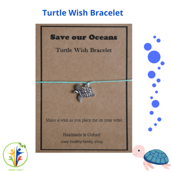 Save The Oceans Birthday Party Bag Premium - Turtle Wish Bracelet