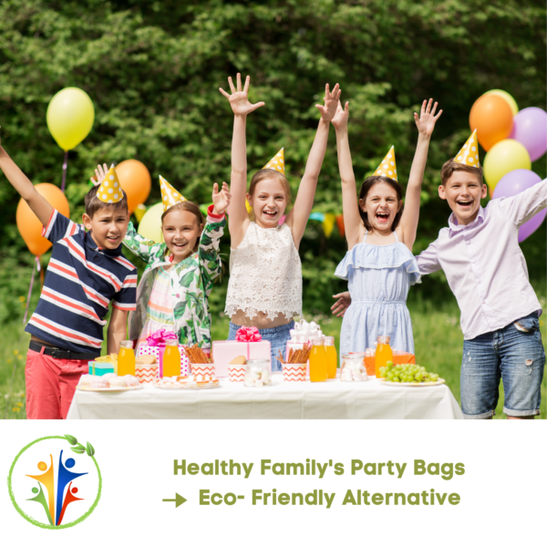 Healthy Family Party Bags- Eco- Friendly Alternative (15)