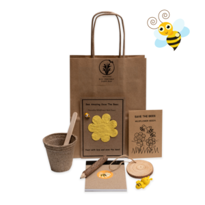 Save The Bees Eco-Friendly party bag for kids