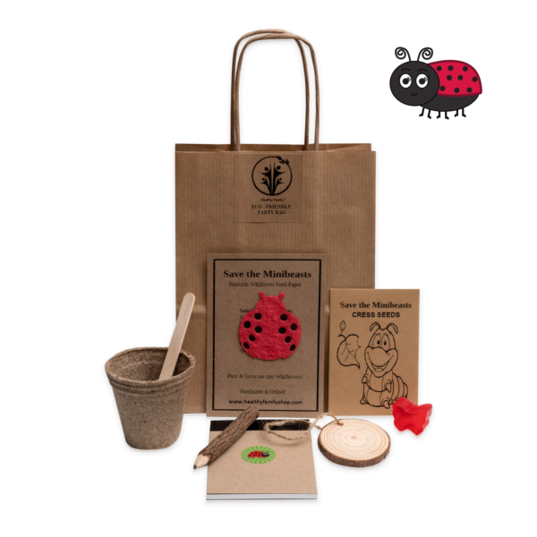 Save The Minibeasts Eco-Friendly Party Bag for Kids