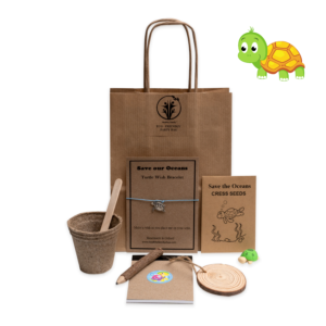 Save The Oceans Eco-Friendly party bag for kids