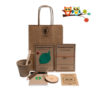 Woodland Friends Eco-Friendly party bag for kids