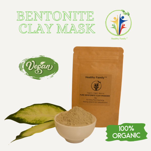 Pure Bentonite Clay Powder